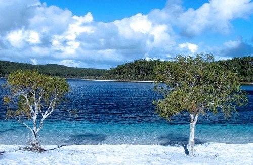 La isla Fraser, Patrimonio de la Humanidad en Australia
