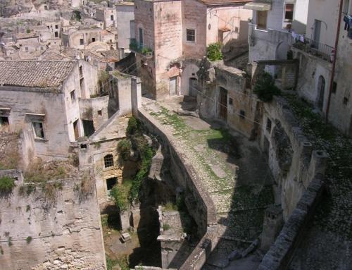 Los Sassi de Matera, en Italia