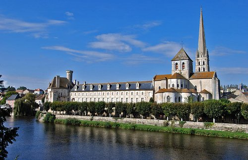 La Abadia de Saint Savin sur Gartempe, Francia