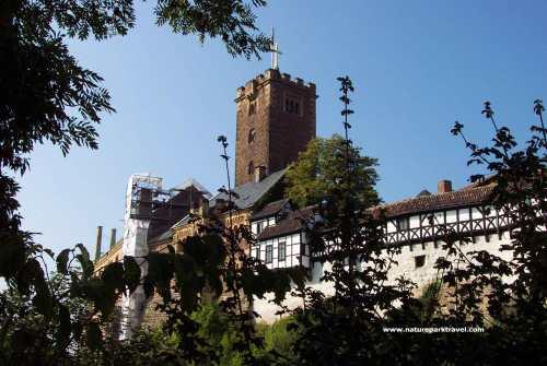 El castillo de Wartburg, en Alemania