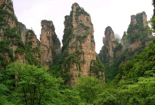 Wulingyuan, naturaleza e historia en China