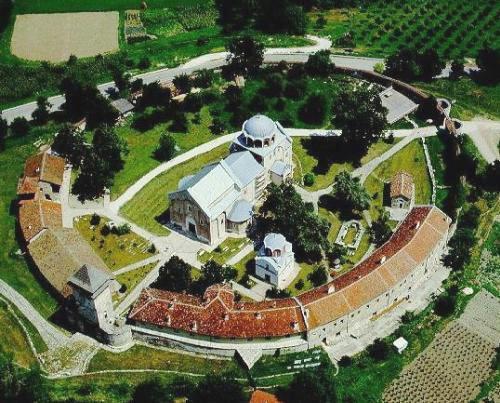 El Monasterio de Studenica, en Serbia