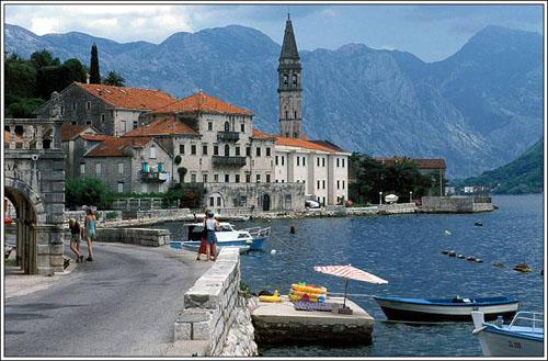 perast, en Montenegro