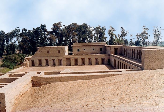 Pachacamac, centro ceremonial, yacimientos arqueológicos, templo