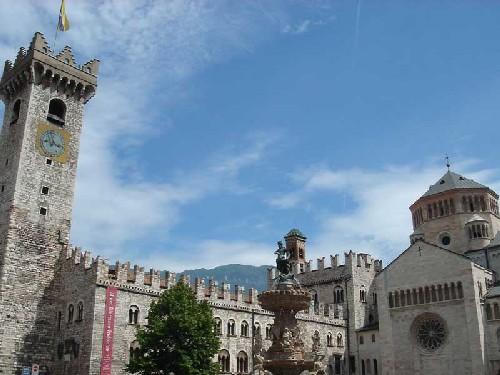 Piazza del Duomo en Trento