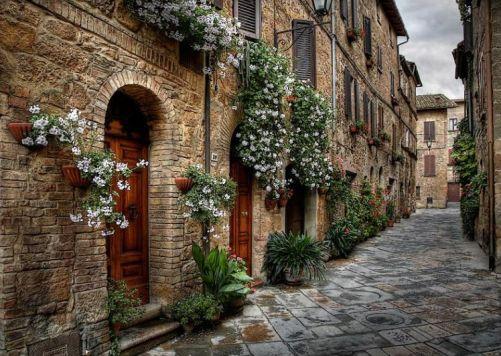 Pienza, ciudad toscana del Patrimonio
