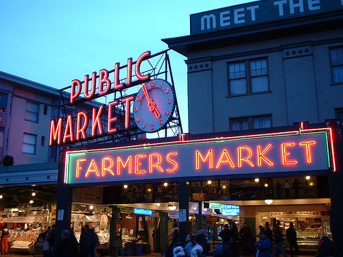 El Mercado de Pike Place en Seattle