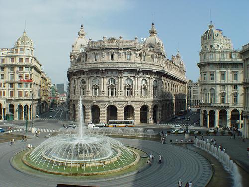 Plaza de Ferrari. Genova