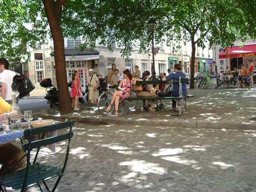 Plaza en Le Marais