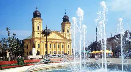 Plaza Mayor de Debrecen