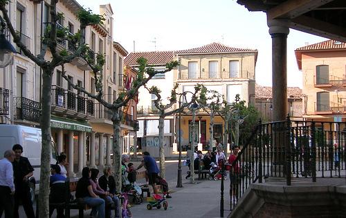 Plaza Mayor de Sahagún