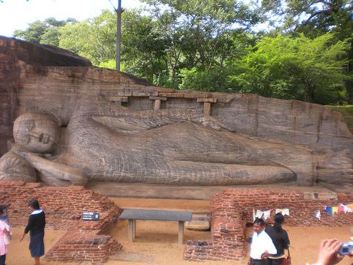 Las ruinas de Polonnaruwa, en Sri Lanka