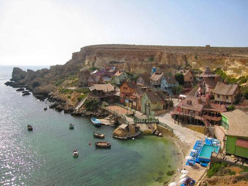 Popeye Village, parque de diversiones en Malta