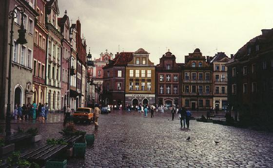 Poznan, la ciudad mas animada de Polonia