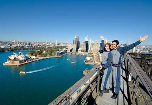 Escala el Puente de Sidney