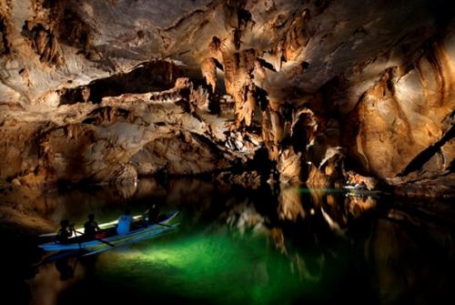 El río subterráneo de Puerto Princesa, Filipinas