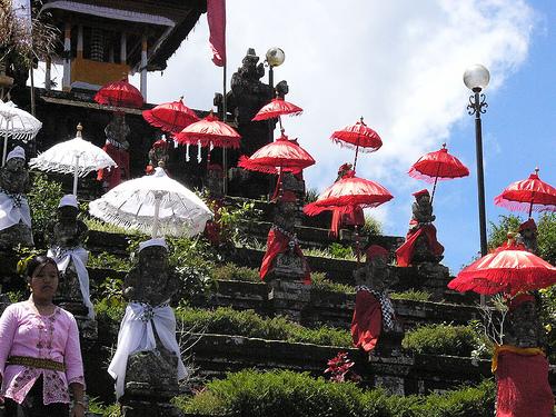 El monte Agung y el Templo de Besakih, en Bali