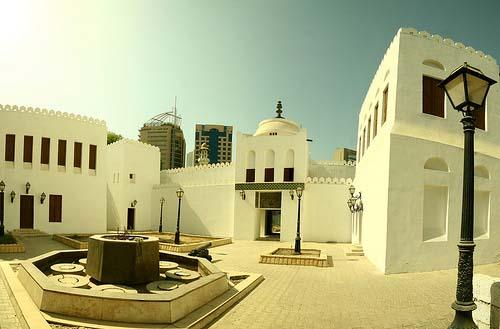 Qasr al-Hosn, el edificio más antiguo de Abu Dhabi