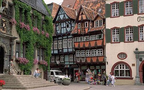 Quedlinburg, Patrimonio Mundial en Alemania