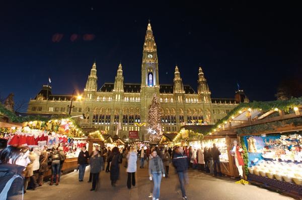 Los mercadillos navideños en Viena