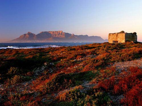 La isla de Robben, en Sudáfrica