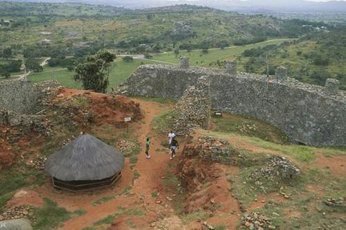 Las ruinas del Gran Zimbawe