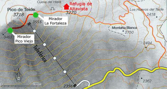 Rutas por el Parque Nacional del Teide