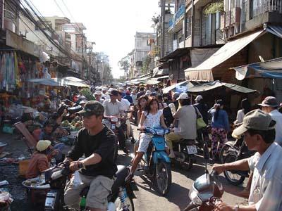 las calles de Saigon