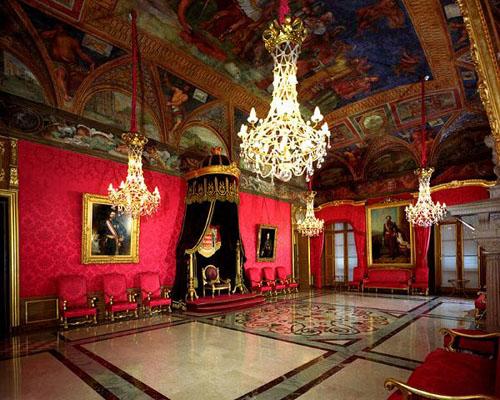 sala del principe en el Palacio Grimaldi