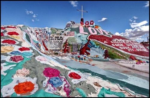 La montaña de la Salvación, California