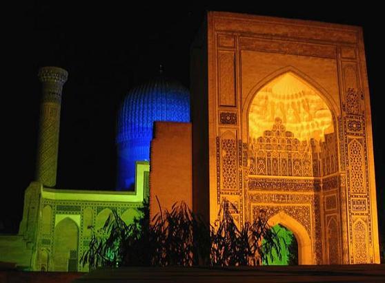 Samarkanda de noche