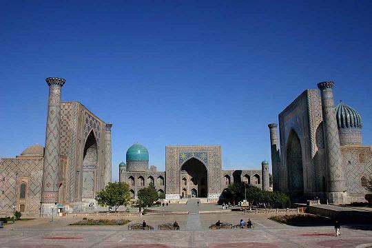 Samarkanda, plaza Reguistan