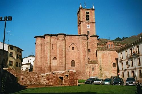 Najera, el monasterio del Camino