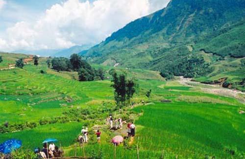 Sapa, al norte de Vietnam