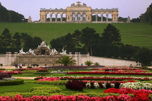 Palacio y jardines de Schönbrunn, Austria