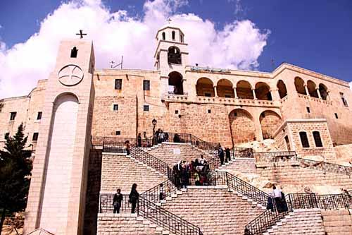 El Convento de Seidnaya, en Damasco