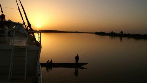 Crucero por el rio Senegal