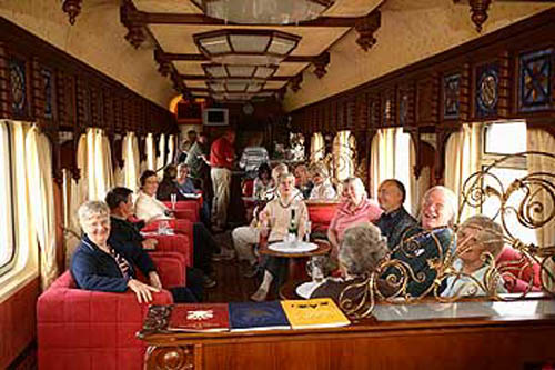 Shangri-La Express, tren de lujo en tierras exóticas
