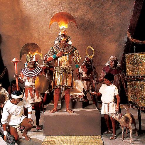 Museo Tumbas Reales de Sipan, Peru