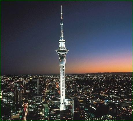 Sky Tower, la torre más alta del hemisferio sur