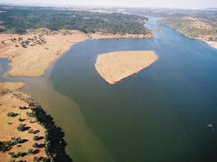 Vista Aérea global del Lago Alqueva