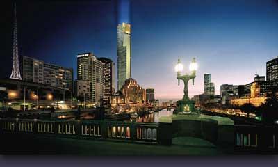 Melbourne y la torre Eureka