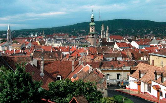 Vista de Sopron