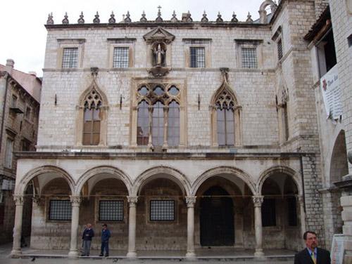 El Palacio Sponza en Croacia