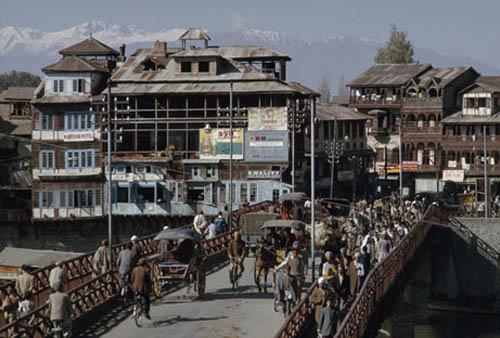 Srinagar en Cachemira