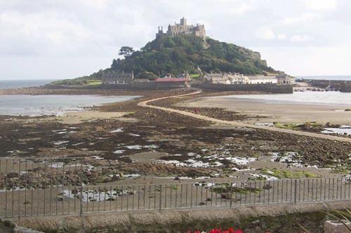 st michel mount en Cornwall