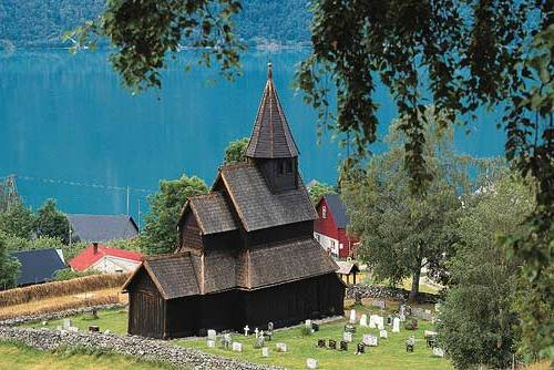 Urnes Stavkirke, iglesia medieval de Noruega
