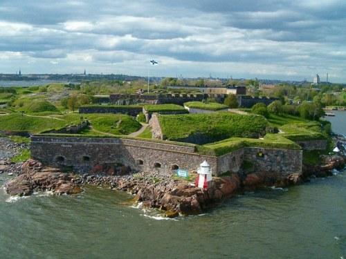 La fortaleza de Suomenlinna, en Finlandia