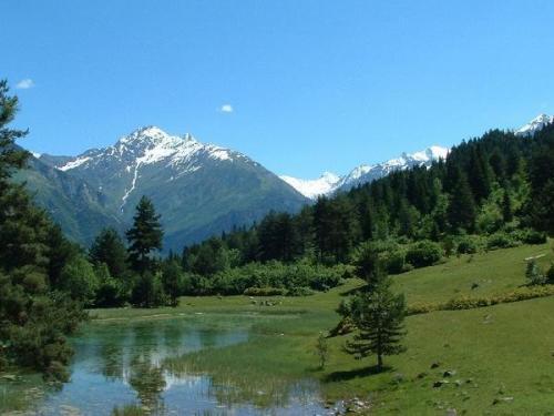 Alta Svaneti, antiguo pueblo de Georgia