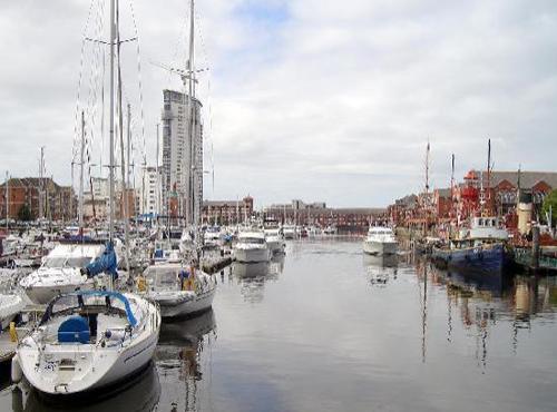 Swansea, la encantadora y fea ciudad